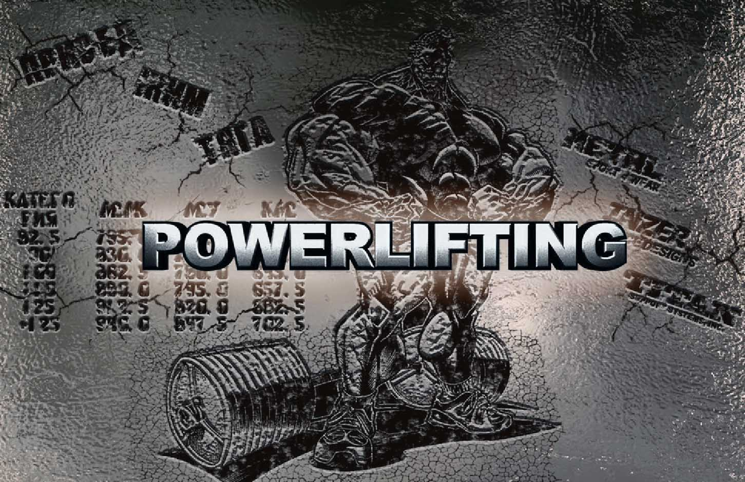 powerlifting program