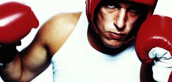 Боксерский шлем (шлем для занятий боксом)