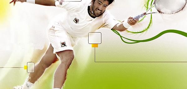 Разминка теннисистов